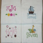 Burp Cloth with Name & Design